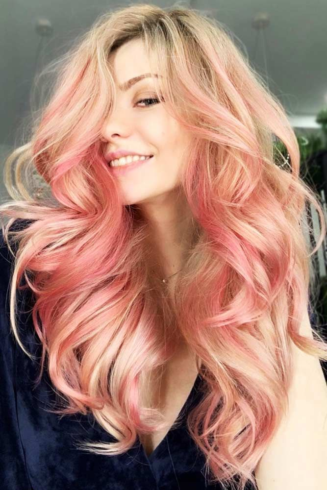 Light Rose Gold Blonde #rosegoldhair #blondehair ★ You have probably noticed that rose gold hair is in for a while alrea…