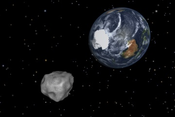 How to track an asteroid?