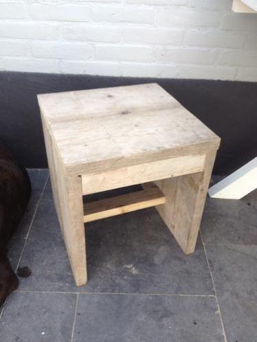 17 best images about steigerhout meubels on pinterest for Bijzettafel steigerhout
