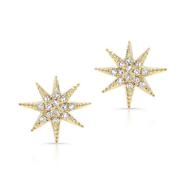 111 best Sun Moon Star Shaped Jewelry images on Pinterest Stud