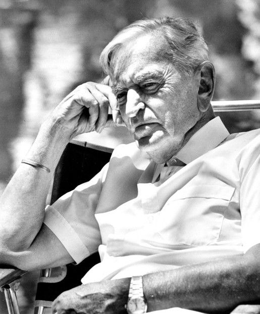 David Lean - film director known for his classic epic films: The Bridge On The River Kwai, Lawrence Of Arabia, Ryan's Daughter, A Passage To India, Doctor Zhivago. He died on April 16, 1991 from throat cancer at the age of 83.