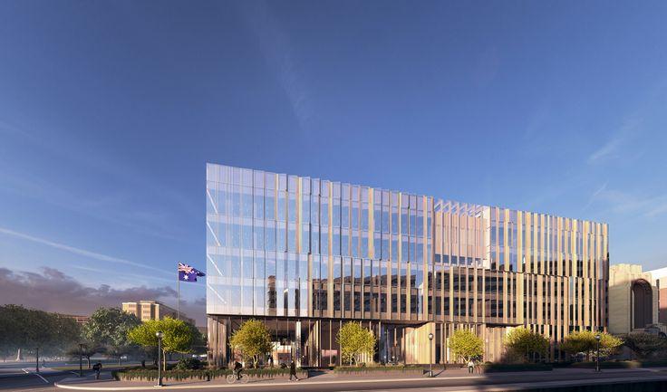 Australian Embassy, Washington / Bates Smart