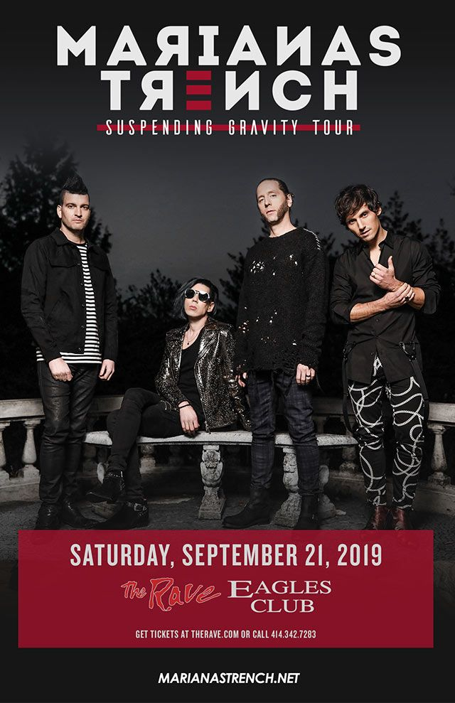 Suspending Gravity Tour Marianas Trench Saturday September 21 2019