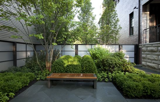 58 best images about landscape courtyards on pinterest for Hoerr schaudt landscape architects
