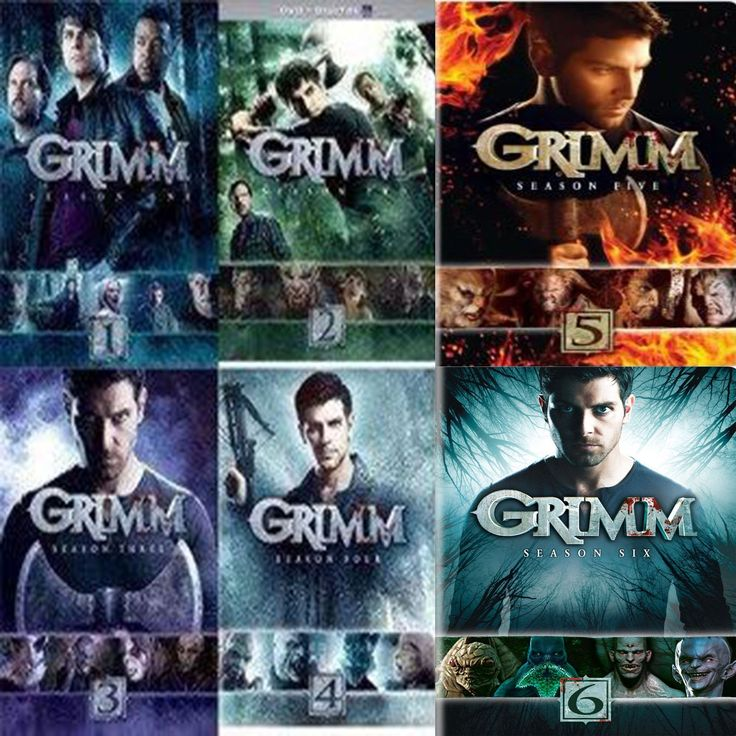Grimm Seasons 1-6 Set on DVD
