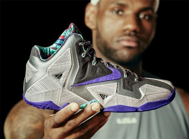 Какие баскетбольные кроссовки у леброна джеймса