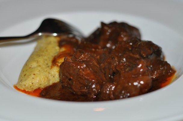 Italian best regional recipes: Peposo (Tuscany) | Inside Cuisine - beef cheeks. Recipe by chef Stefano Manfredo
