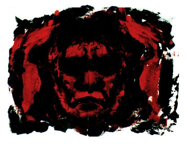 """""""Dentro de mi cabeza"""" Acrílico/panel 40x60 cm"""