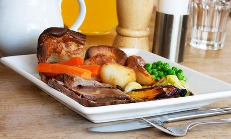 Sunday Carvery With Wine For Two Two-Course Sunday Carvery With Wine For Two or Four from £19.99 at The Plough Inn (Up to 36% Off)  >> BUY & SAVE Now!  Check more at http://nationaldeal.co.uk/sunday-carvery-with-wine-for-two/