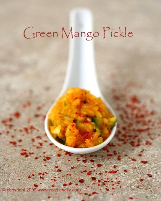 Green Mango Pickle