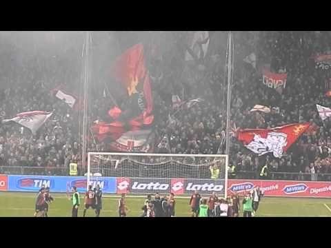 Genoa juventus 1 0 , I grifoni sotto le gradinate ;)