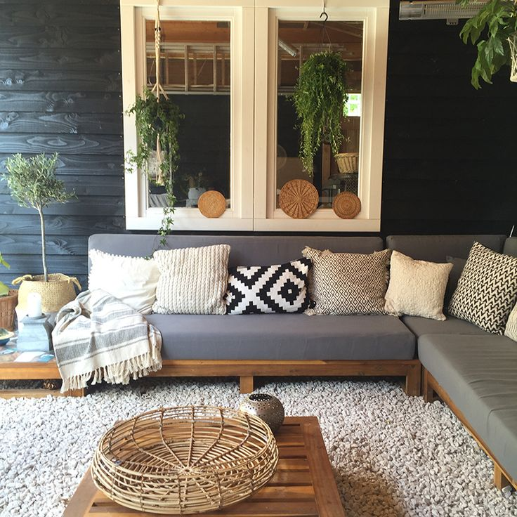 Patio Furniture For Living Room: Best 25+ Outdoor Sectional Ideas On Pinterest