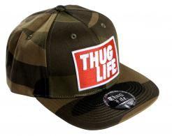 Thug Life Camo Cap,