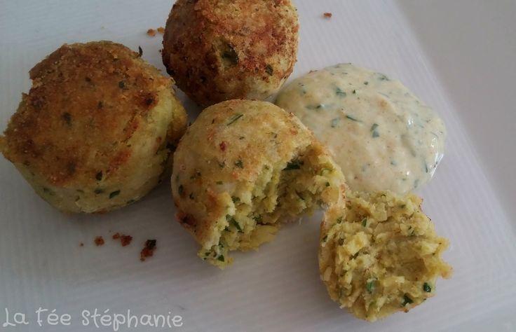 La Fée Stéphanie: Boulettes de haricots cannellini (haricots blancs) au curry, riches en fibres et protéines végétales