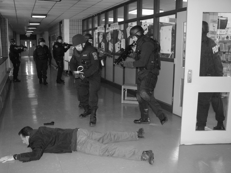Our SWAT team training