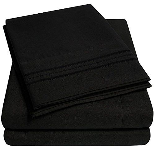 Black Full size sheets like this.