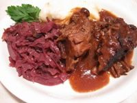 Sauerbraten From a Former Chef - Buttermilk Marinated Sauerbraten - Recipe for a Marinated Roast