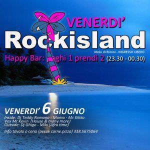Torna l'appuntamento con il Venerdì #Rockisland #Rimini. Tanta musica e tanto divertimento al molo di Rimini