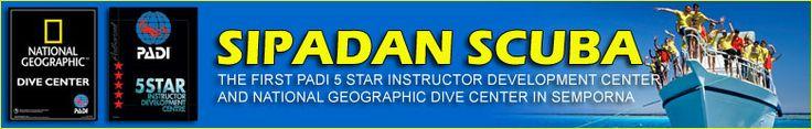 Sipadan Scuba PADI 5 Star IDC Centre in Semporna Borneo Sabah Malaysia offers padi dive courses and daily diving trips to Sipadan, Mabul and...