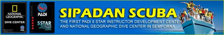 Sipadan Scuba PADI 5 Star IDC Centre in Semporna Borneo Sabah Malaysia offers padi dive courses and daily diving trips to Sipadan, Mabul and...
