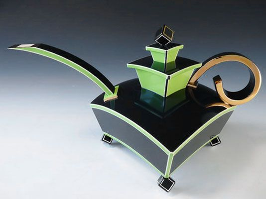 morgan contemporary glass gallery - Images for Porntip Sangvanich - Square Teapot