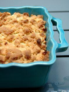 Crumble aux pommes : super recette :D Par contre la prochaine fois je mettrais un peu moins (pas?) de cannelle. Mais c'est selon les gouts :) Facile et rapide avec un peu de crème fraiche ou une belle boule de glace à la vanille !