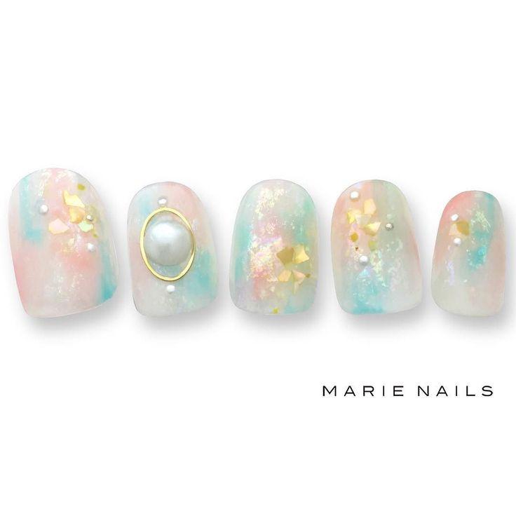 #マリーネイルズ #ネイル #kawaii #tokyo #ジェルネイル #ネイルアート #swag #marienails #ネイルデザイン #naildesigns #trend #nail #toocute #tropical #nails #ファッション #naildesign #ネイルサロン #beautiful #nailart #tokyo #fashion #ootd #nailist #ネイリスト #gelnails #ショーネイル #大人ネイル #トロピカル #大人カワイイ