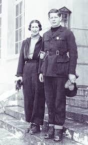 Regele Mihai și Regina mamă Elena.