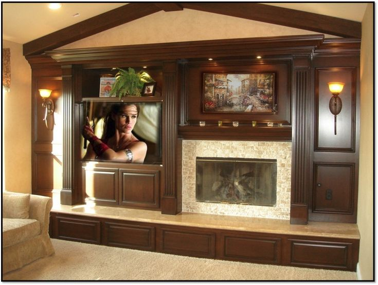 Fireplace Entertainment Center – Classic 10 | Appleton Renovations