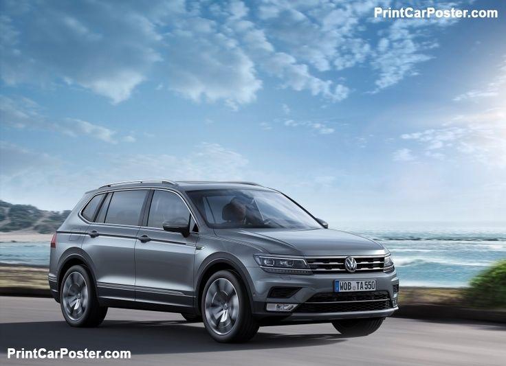 Volkswagen Tiguan Allspace 2018 Poster Id 1298270 Volkswagen Hybrid Car New Cars