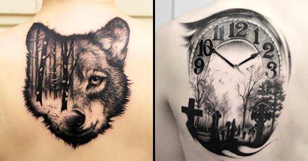 Poetic Blackwork Tattoos By Piotr Bemben