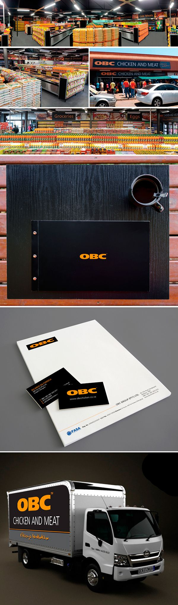 OBC Chicken and Meat on Behance