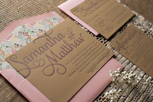 Rustic Wedding Invitation and Info Card ft. in our WEDDING INVITE WORDING BREAKDOWN {Wedding Planning Series}  | Confetti Daydreams ♥  ♥  ♥ LIKE US ON FB: www.facebook.com/confettidaydreams  ♥  ♥  ♥ #Wedding