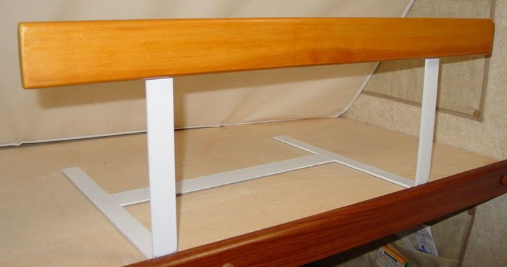 Another Custom Bunk Bed Safety Rail View 2 On The Road