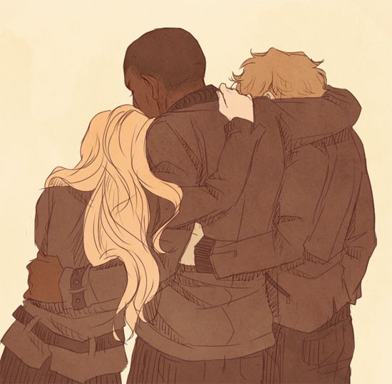 Why were the weak ones, but we sacrificed our lives, angst alphas (Erica), for our alpha (Boyd), and yet one of us still stands, the one that keeps our memories alive (Isaac)