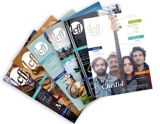 LCFF = Langue et cultures françaises et francophones, le magazine pour les étudiants et enseignants de français ! LCFF c'est : - une parution mensuelle de 50 pages - deux formats disponibles : numérique (.pdf) ou papier - des articles accessibles à partir du niveau B1 - pour chaque article, les mots compliqués sont expliqués en français dans le lexique - des articles lus disponibles au format mp3 ou CD - etc... Rendez-vous sur notre site http://www.lcf-magazine.com