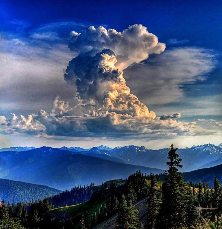 weather, Thunderhead, Hurricane Ridge, Washington