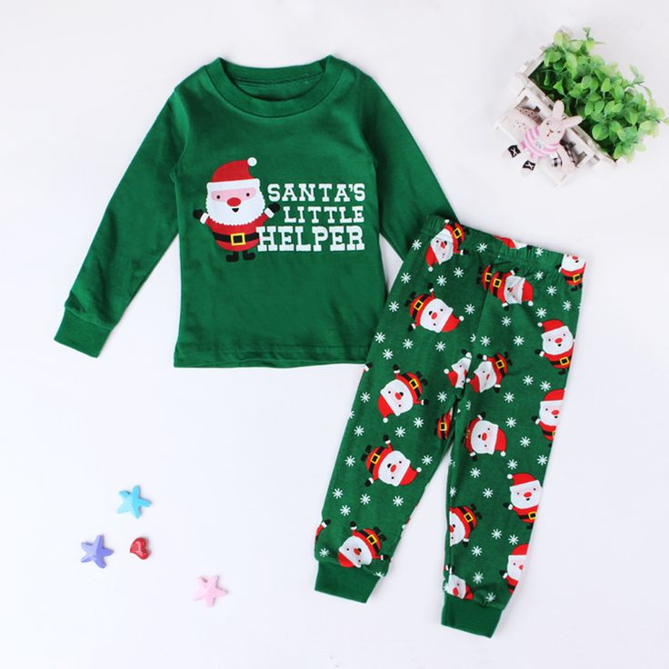>> Click to Buy << Brand Cotton Pajamas Set Kids Christmas Pajamas For Boys 2-7 Years Kids Boys Sleepwear Pajamas Christmas Boys Girls Clothing Set #Affiliate