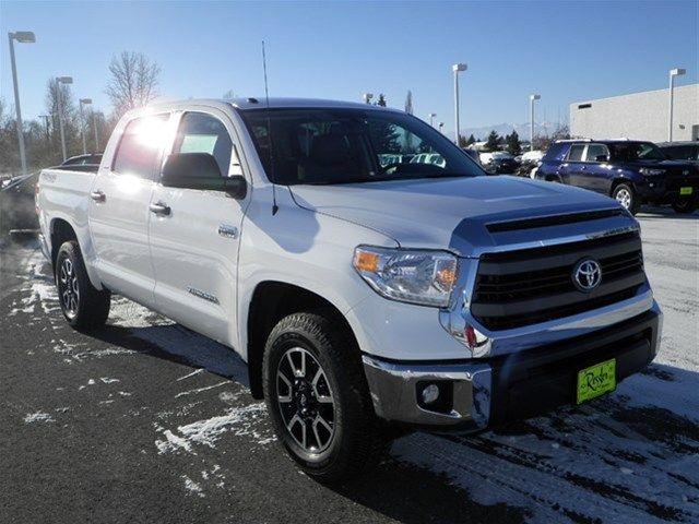 White 2015 Toyota Tundra Crewmax 4x4 In Bozeman Mt