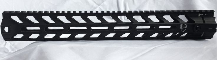 "The Rail: Fortis Rev II MLOK 14""  It is not easy choosing a rail. There are more options for AR rails available today than there are for any other component. clarkarmory.com"