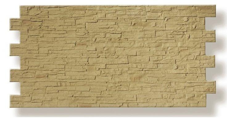 Paneles de poliuretano imitación piedra pizarra        El panel decorativo para revestimiento de par...