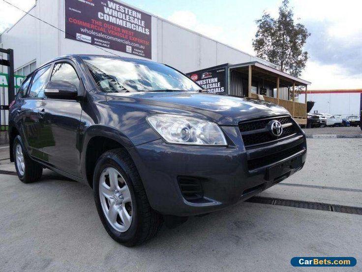 2009 Toyota RAV4 ACA33R 08 Upgrade CV (4x4) Grey Automatic 4sp A Wagon #toyota #rav4 #forsale #australia