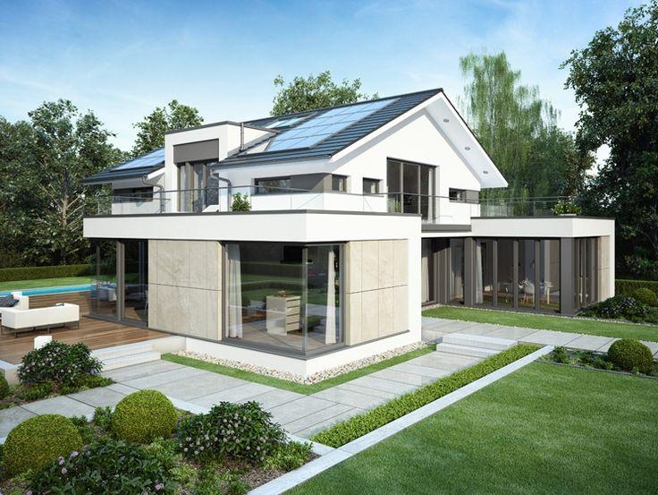 Die besten 25 walmdach ideen auf pinterest dachformen - Walmdach moderne architektur ...