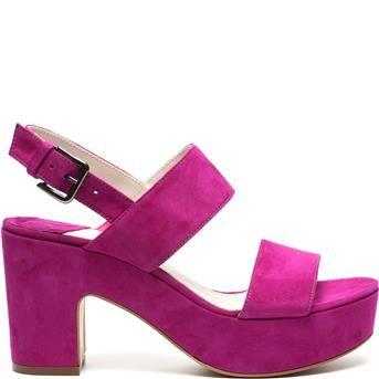 Manfield - roze sandalen