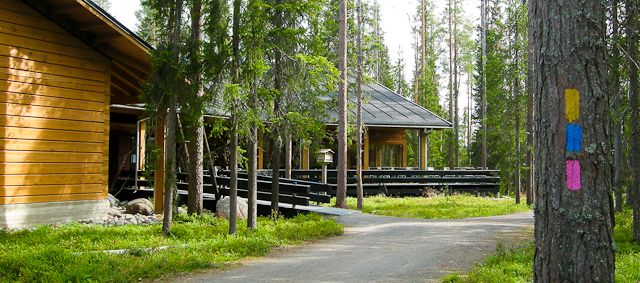 Information Center of the National Park Syöte, Taivalkoski, Lapland, Finland www.outdoors.fi
