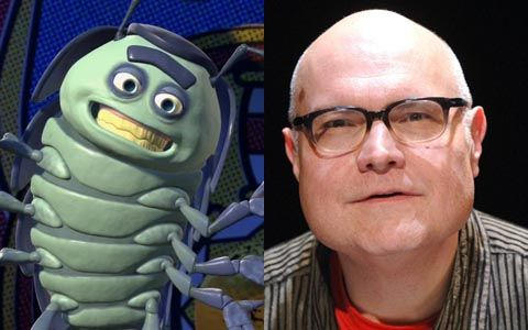 Michael McShane voice of Tuck &Roll in Bugs Life