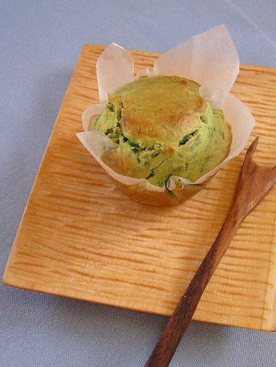 米粉で小松菜マフィン
