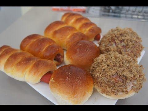 How to make FLUFFY Asian milk Bread Buns recipe TANGZHONG Breville Custom Loaf Pro BBM800 maker PT2