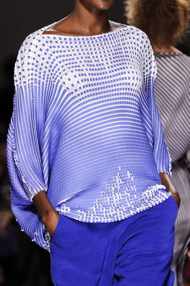 Very intriguing texture! Issey Miyake SS2013