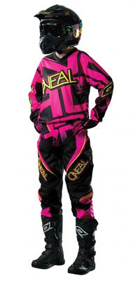 Pink: Neal Motocross Dirt-Bike Combo Sets - 2014